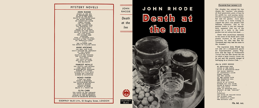 Death at the Inn. John Rhode