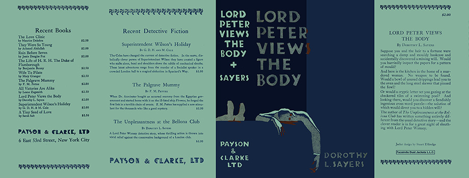 Lord Peter Views the Body. Dorothy L. Sayers
