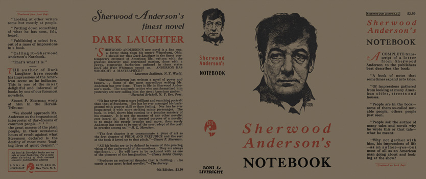 Notebook. Sherwood Anderson