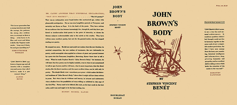 John Brown's Body. Stephen Vincent Benet