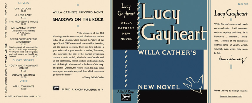 Lucy Gayheart. Willa Cather