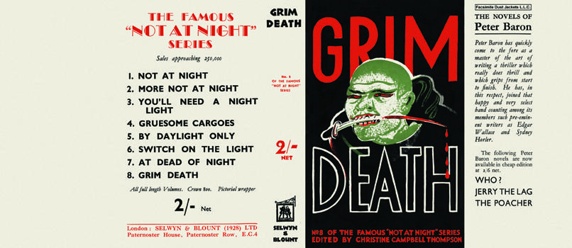 Grim Death (Not at Night series). Christine Campbell Thomson, Anthology.