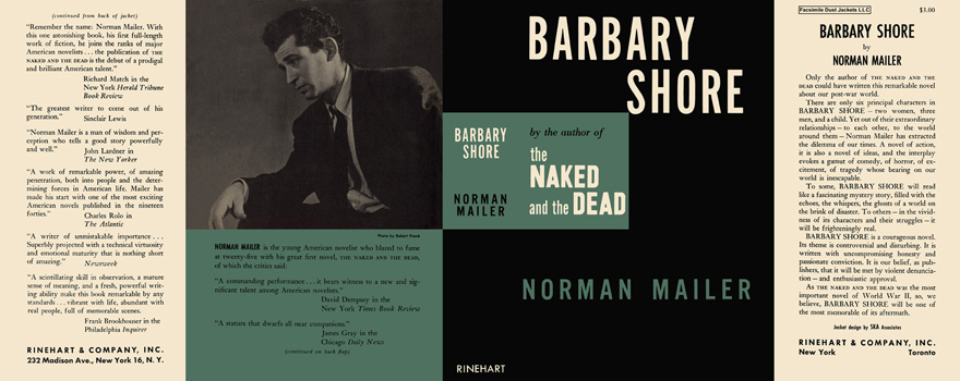 Barbary Shore. Norman Mailer.