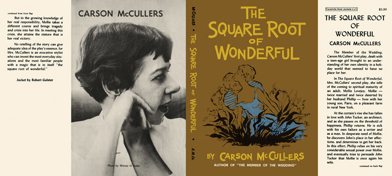 Square Root of Wonderful, The. Carson McCullers