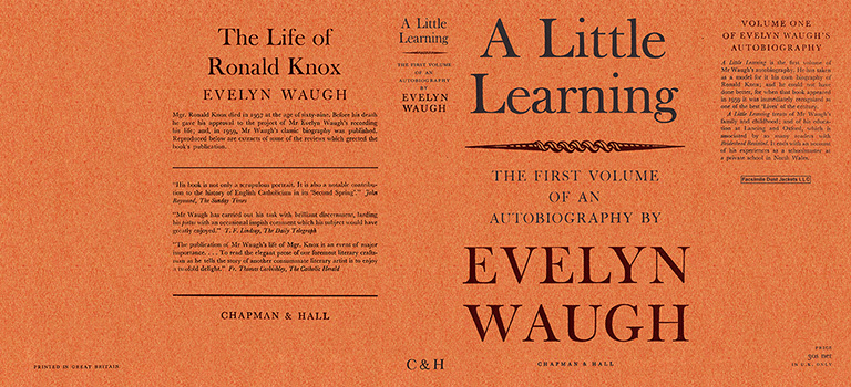 Little Learning: The First Volume of an Autobiography, A. Evelyn Waugh