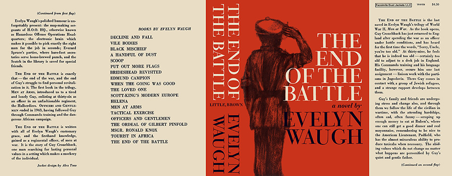End of the Battle, The. Evelyn Waugh