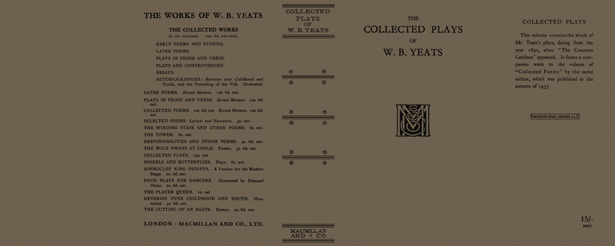 Collected Plays of W. B. Yeats, The. W. B. Yeats