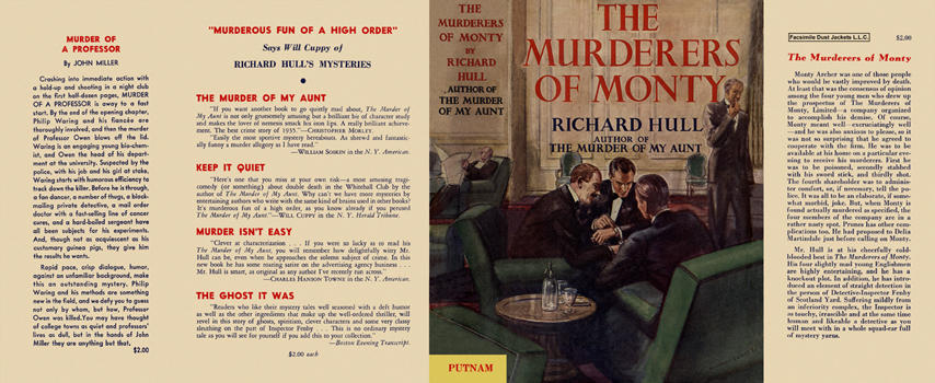 Murderers of Monty, The. Richard Hull.