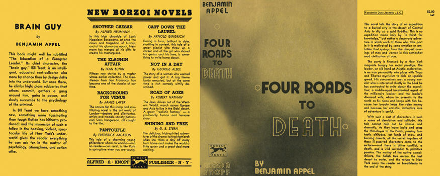 Four Roads to Death. Benjamin Appel