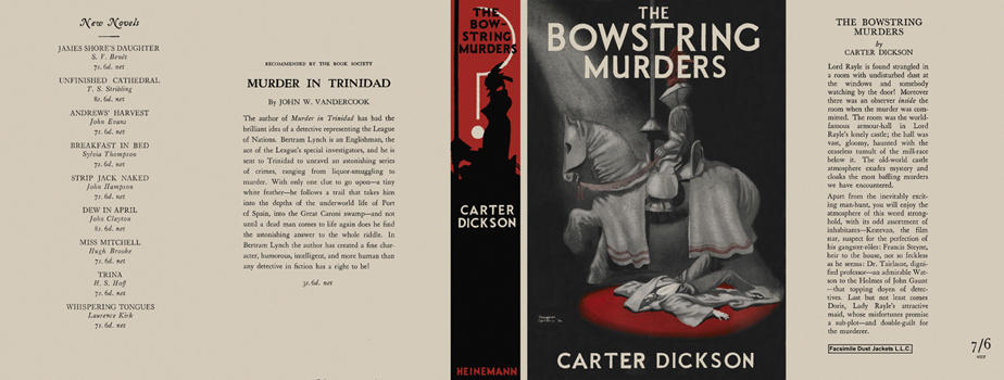 Bowstring Murders, The. Carter Dickson