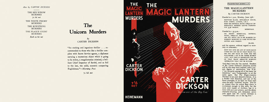 Magic Lantern Murders, The. Carter Dickson