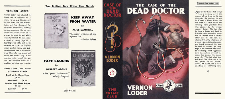 Case of the Dead Doctor, The. Vernon Loder