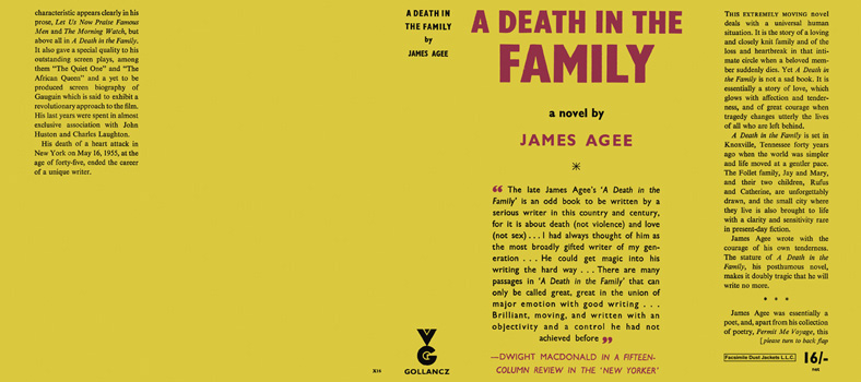 Death in the Family, A. James Agee.