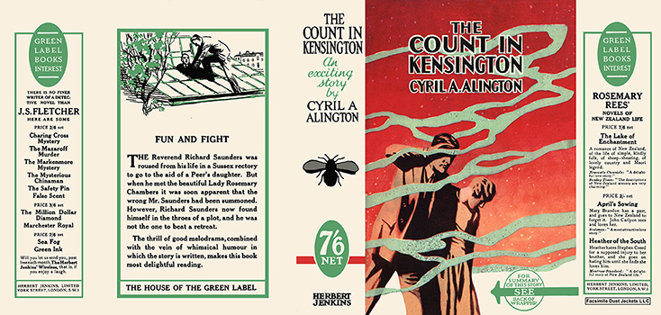 Count in Kensington, The. Cyril A. Alington