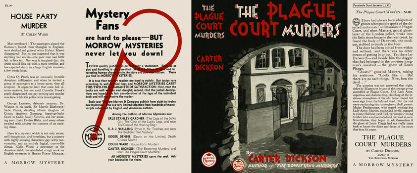 Plague Court Murders, The. Carter Dickson