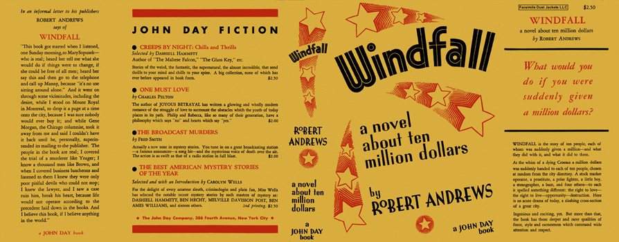 Windfall. Robert Andrews