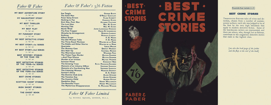 Best Crime Stories. Anthology