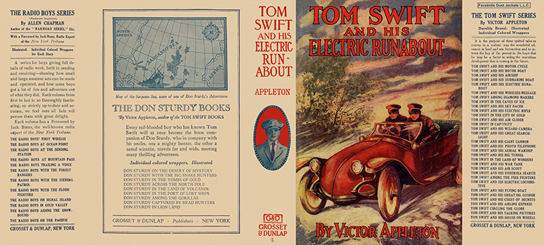 Tom Swift #05: Tom Swift and His Electric Runabout. Victor Appleton.