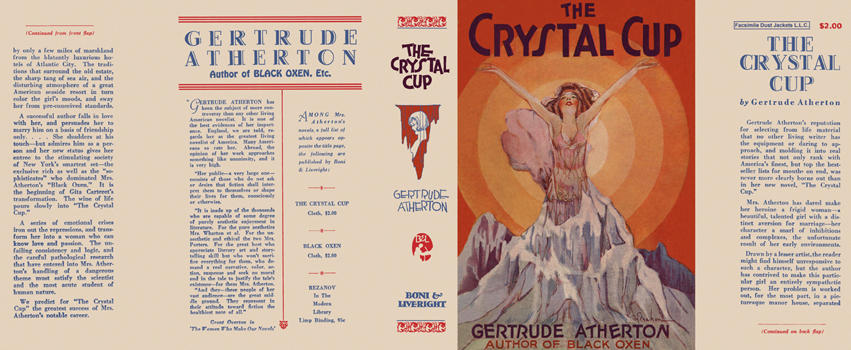 Crystal Cup, The. Gertrude Atherton