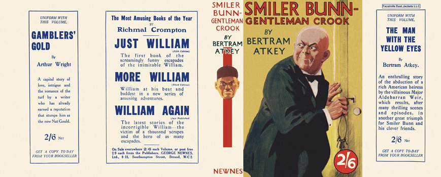 Smiler Bunn - Gentleman Crook. Bertram Atkey