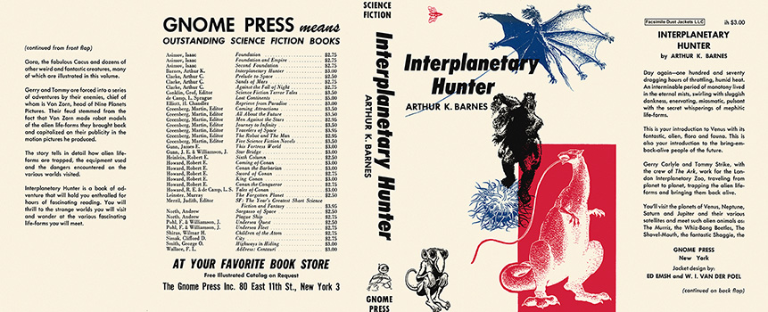 Interplanetary Hunter. Arthur K. Barnes