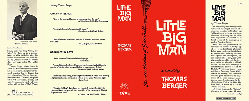 an analysis of little big man a novel by thomas berger When news came july 21 of the death of author thomas berger is his third novel, little big man is surviving the battle of the little big.