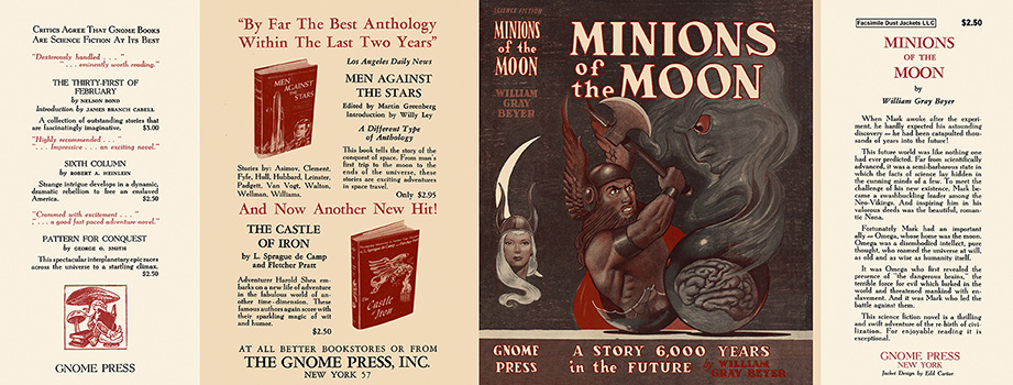 Minions of the Moon. William Gray Beyer