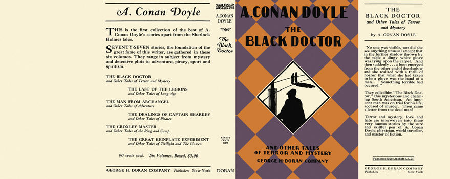 Black Doctor, The. Sir Arthur Conan Doyle