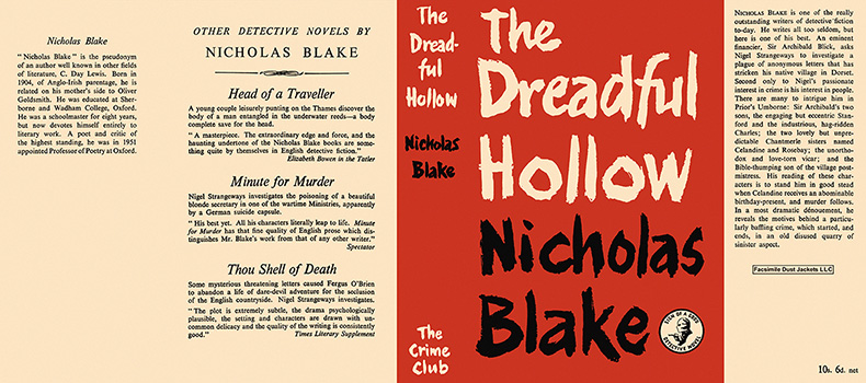Dreadful Hollow, The. Nicholas Blake.