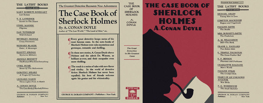 Case Book of Sherlock Holmes, The. Sir Arthur Conan Doyle