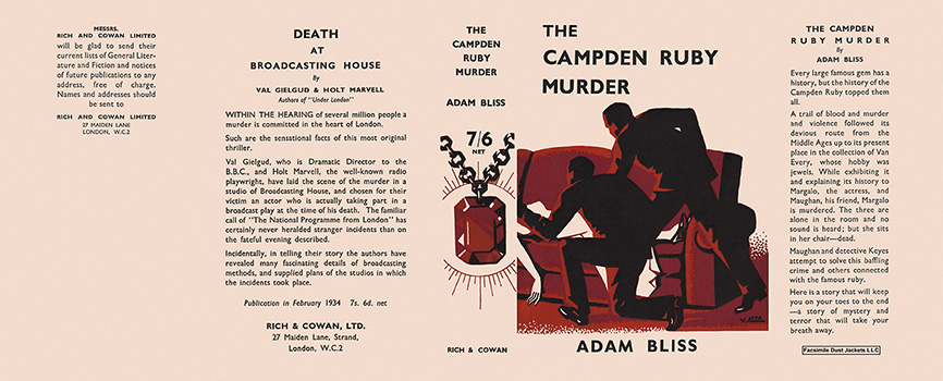 Campden Ruby Murder, The. Adam Bliss.