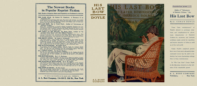 His Last Bow. Sir Arthur Conan Doyle