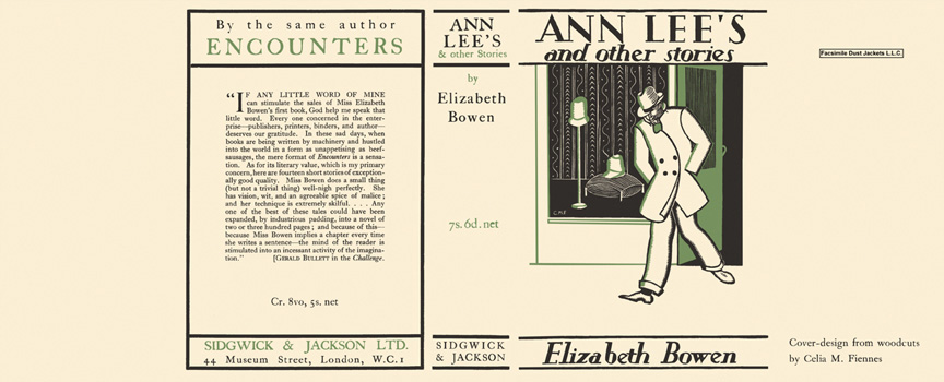 Ann Lee's and Other Stories. Elizabeth Bowen