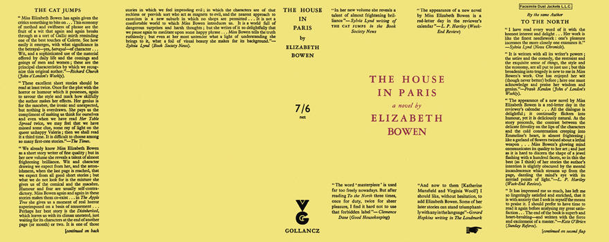 House in Paris, The. Elizabeth Bowen.