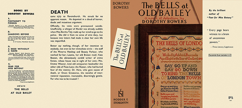 Bells at Old Bailey, The. Dorothy Bowers.