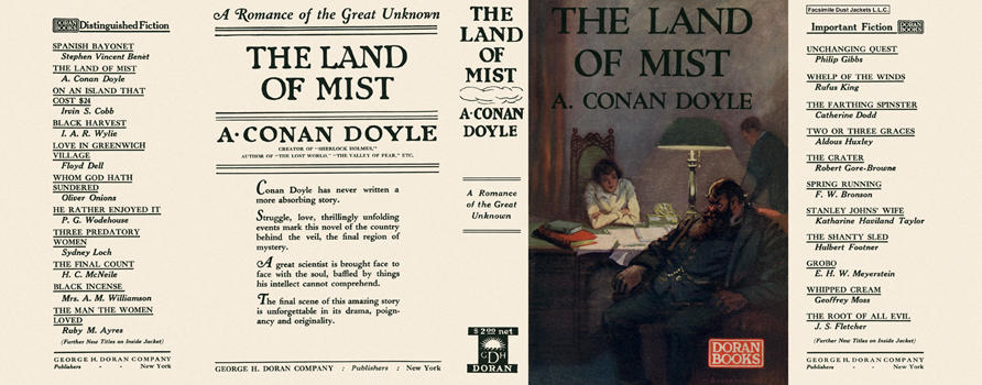 Land of Mist, The. Sir Arthur Conan Doyle