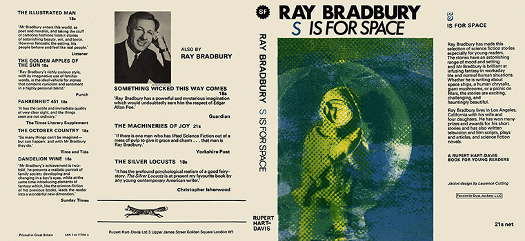 S is for Space. Ray Bradbury