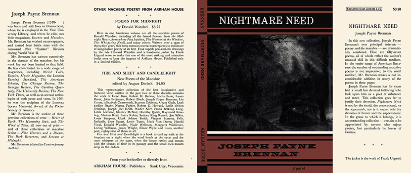 Nightmare Need. Joseph Payne Brennan.