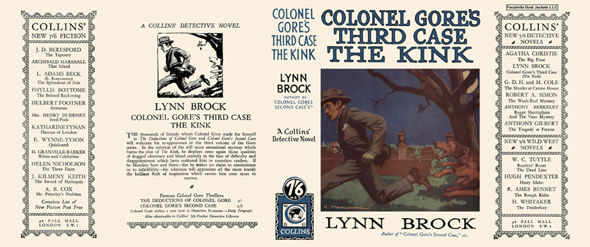 Colonel Gore's Third Case, The Kink. Lynn Brock.