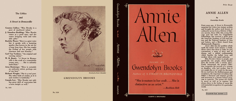 Annie Allen. Gwendolyn Brooks.