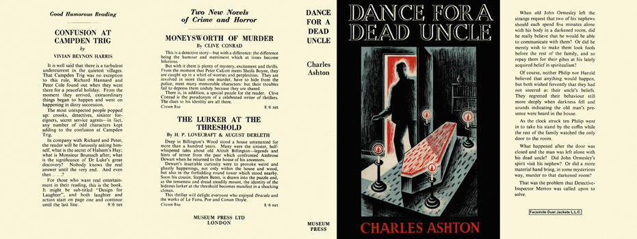 Dance for a Dead Uncle. Charles Ashton.