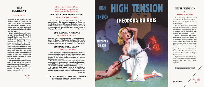 High Tension. Theodora DuBois.