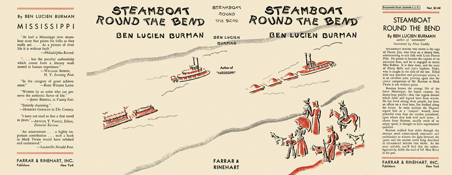 Steamboat Round the Bend. Ben Lucien Burman.