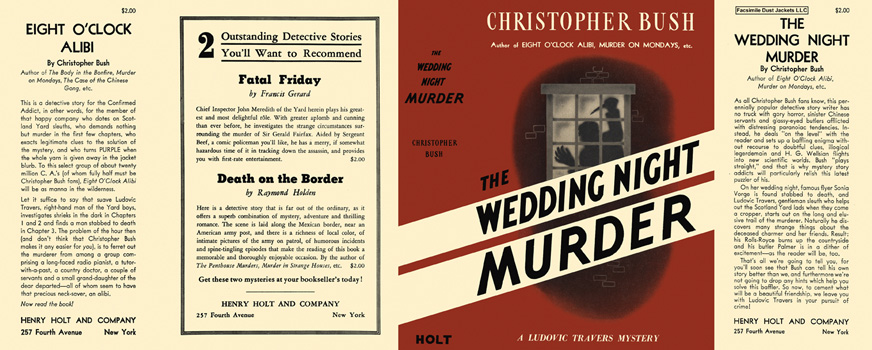 Wedding Night Murder, The. Christopher Bush