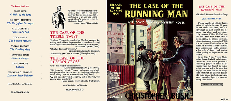 Case of the Running Man, The. Christopher Bush.