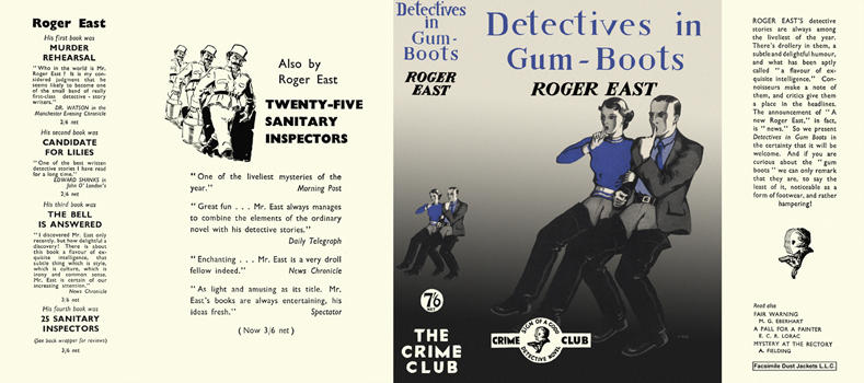 Detectives in Gum-Boots. Roger East.