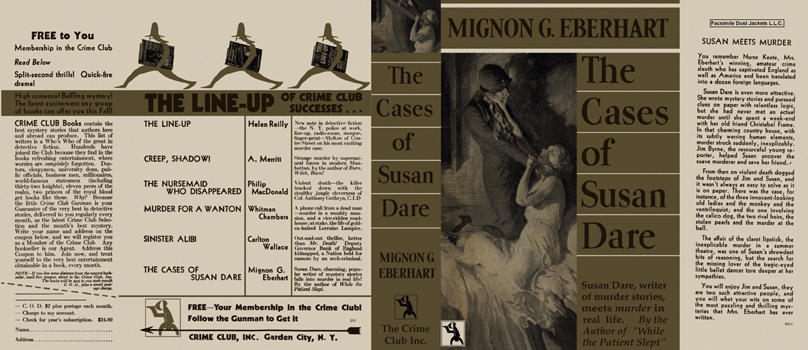 Cases of Susan Dare, The. Mignon G. Eberhart