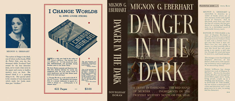 Danger in the Dark. Mignon G. Eberhart.