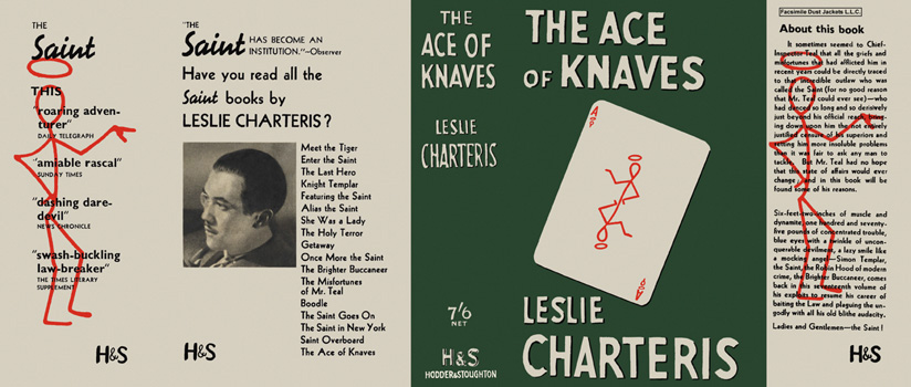 Ace of Knaves, The. Leslie Charteris.