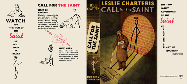 Call for the Saint. Leslie Charteris.